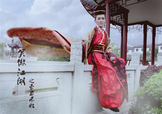 Vẻ đẹp nữ tính của Đông Phương Bất Bại
