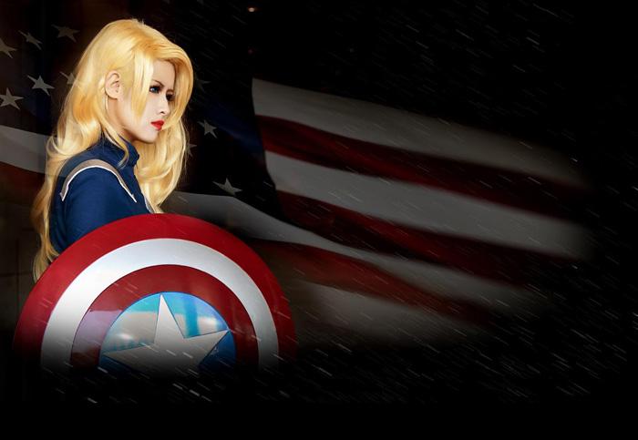 Captain America và Iron Man phiên bản nữ đại chiến - Ảnh 3
