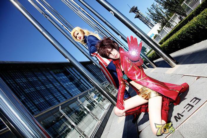 Captain America và Iron Man phiên bản nữ đại chiến - Ảnh 6