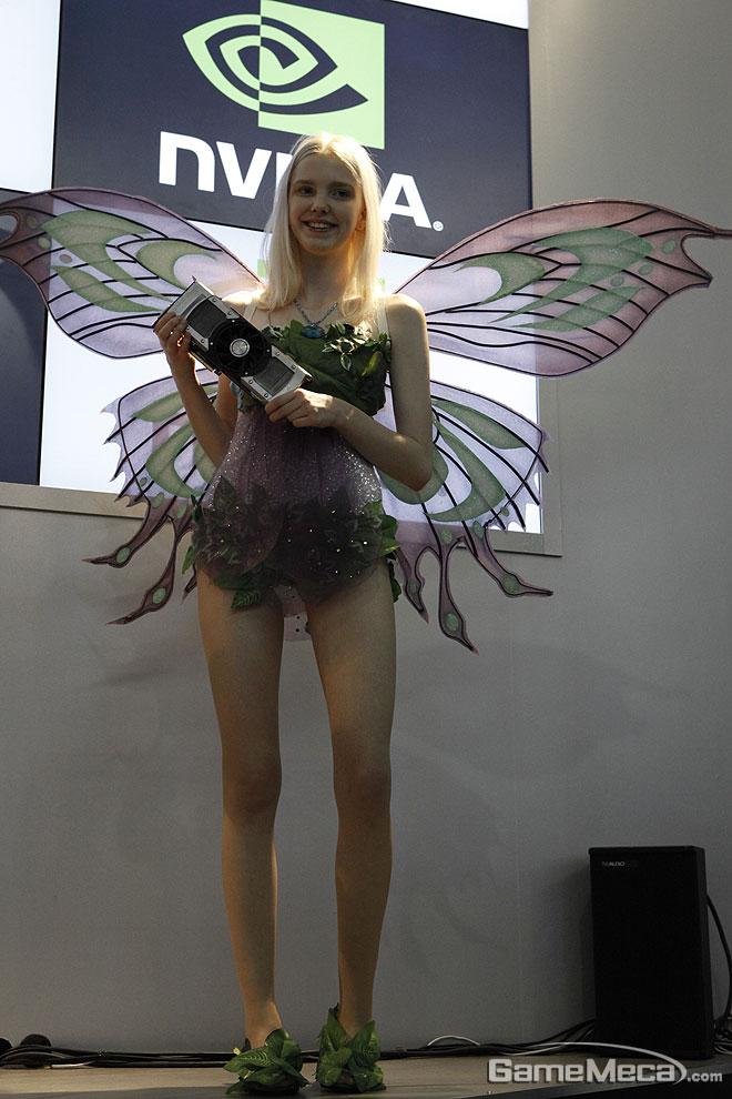 Thiên thần xinh đẹp của Nvidia tại Gstar 2012 - Ảnh 4