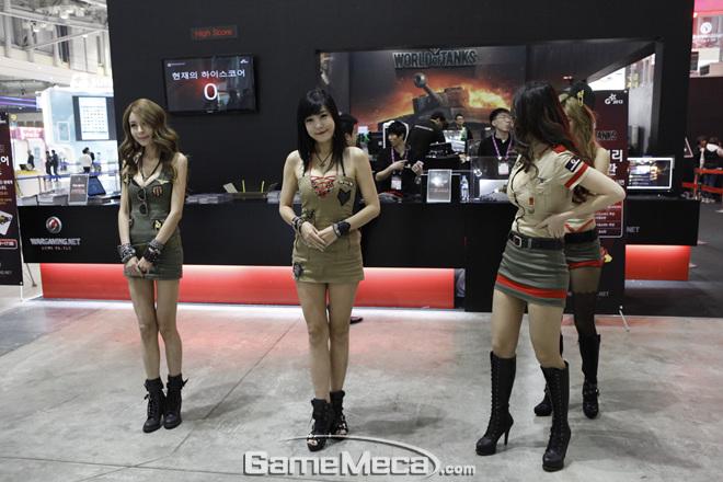 Những nữ quân nhân đáng yêu của World of Tanks