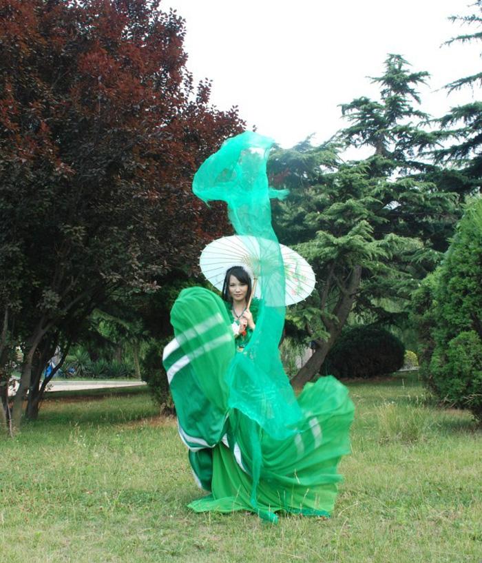 Bích Dao và tà áo xanh gợi cảm trong Tru Tiên - Ảnh 17