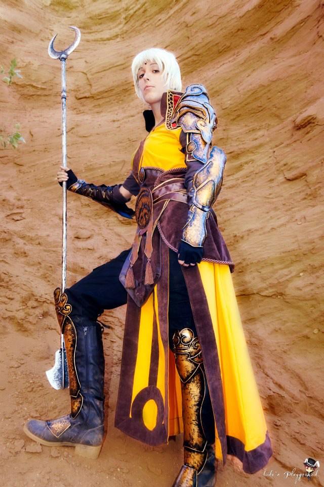 Lili và bộ ảnh cosplay về nữ thầy tu trong Diablo III - Ảnh 1