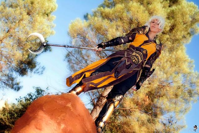 Lili và bộ ảnh cosplay về nữ thầy tu trong Diablo III - Ảnh 5