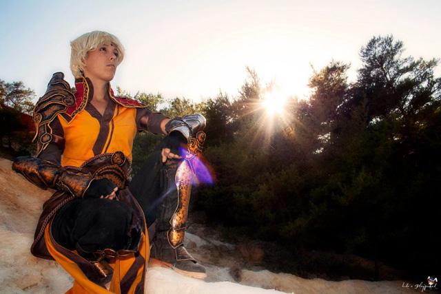 Lili và bộ ảnh cosplay về nữ thầy tu trong Diablo III - Ảnh 9