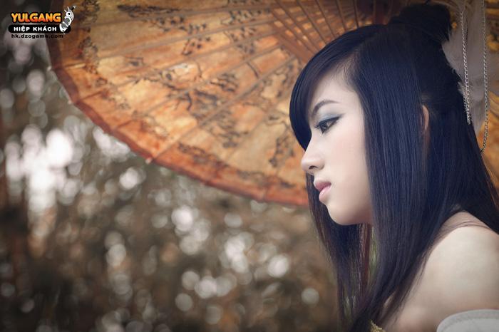 Vẻ đẹp ma quái của Cầm Sư trong Hiệp Khách Online - Ảnh 1
