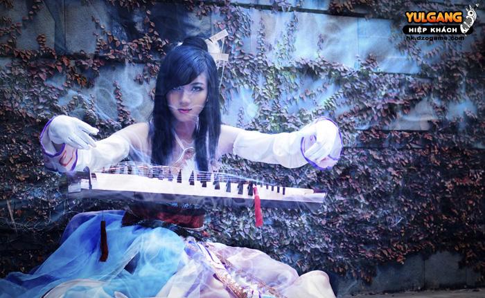 Vẻ đẹp ma quái của Cầm Sư trong Hiệp Khách Online - Ảnh 8