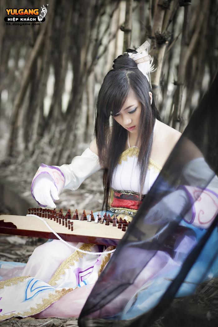 Vẻ đẹp ma quái của Cầm Sư trong Hiệp Khách Online - Ảnh 9