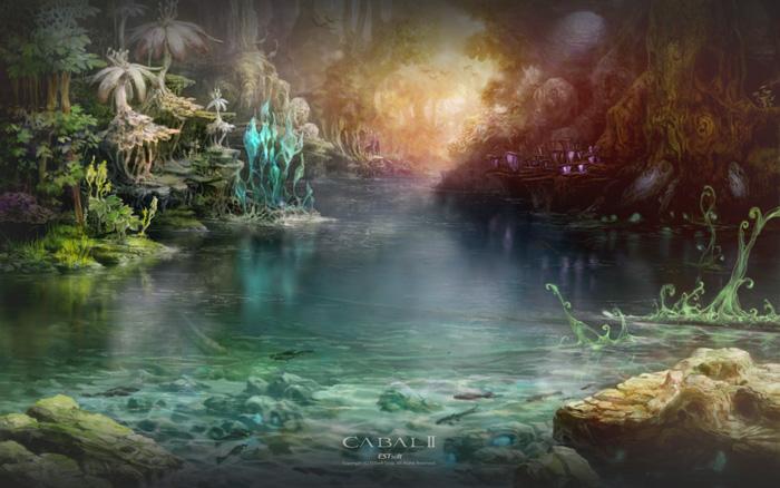 Bộ hình nền tuyệt đẹp của Cabal 2 Hàn Quốc