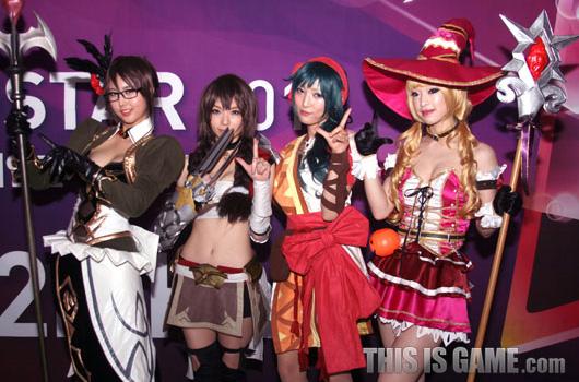 Bỏng mắt với cosplay Red Stone 2 tại Gstar 2012 - Ảnh 4