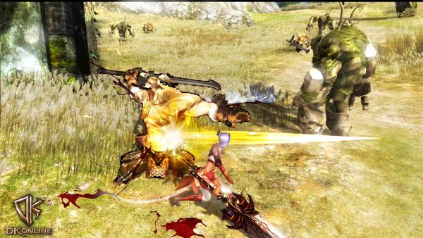 Soi cận cảnh chiến trận trong DK Online - Ảnh 2