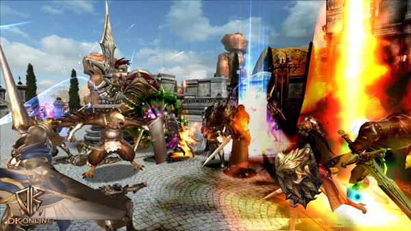 Soi cận cảnh chiến trận trong DK Online - Ảnh 5