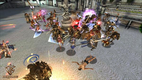 Soi cận cảnh chiến trận trong DK Online - Ảnh 10