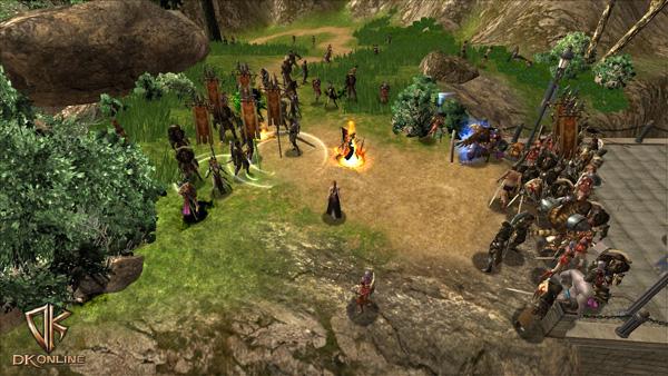 Soi cận cảnh chiến trận trong DK Online - Ảnh 12