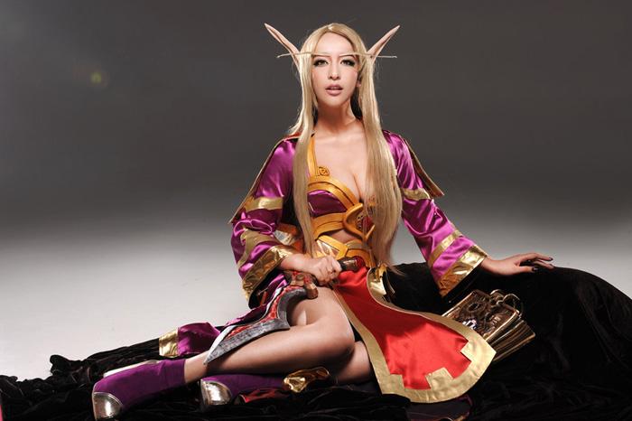 World of Warcraft: Loạt ảnh cosplay tuyệt đẹp về Elf - Ảnh 1