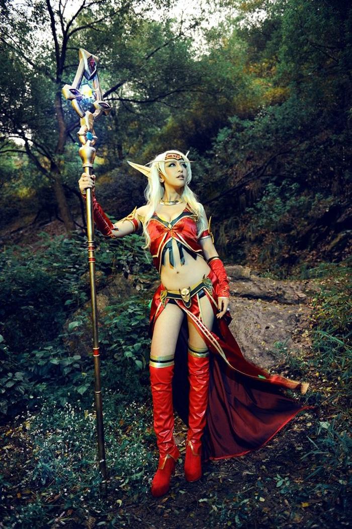 World of Warcraft: Loạt ảnh cosplay tuyệt đẹp về Elf - Ảnh 4
