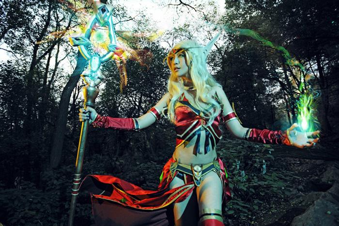World of Warcraft: Loạt ảnh cosplay tuyệt đẹp về Elf - Ảnh 7