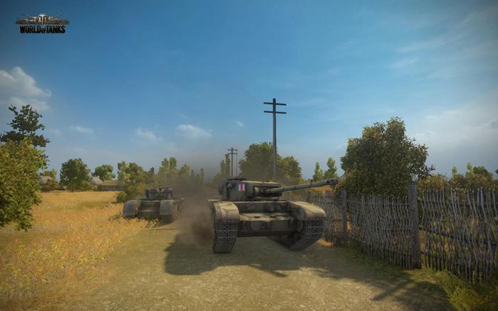 Chiêm ngưỡng tăng Anh trong World of Tanks 8.1 - Ảnh 2