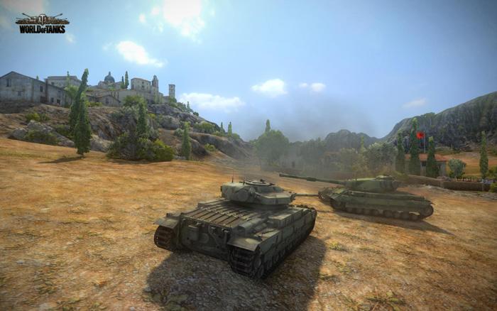 Chiêm ngưỡng tăng Anh trong World of Tanks 8.1 - Ảnh 3
