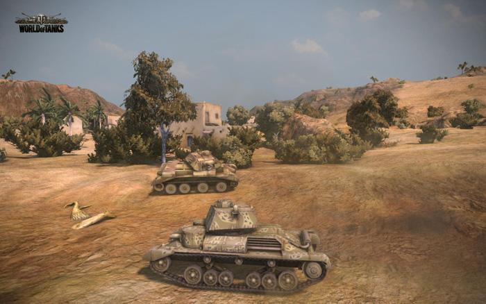 Chiêm ngưỡng tăng Anh trong World of Tanks 8.1