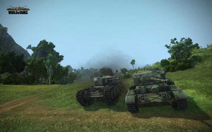 Chiêm ngưỡng tăng Anh trong World of Tanks 8.1 - Ảnh 7