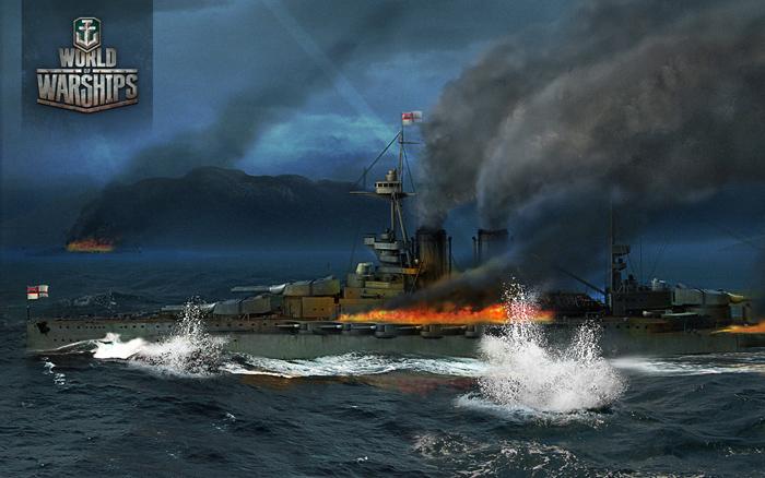 Thủy chiến khốc liệt trong World of Warships - Ảnh 2