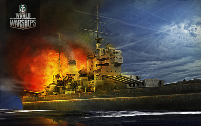 Thủy chiến khốc liệt trong World of Warships