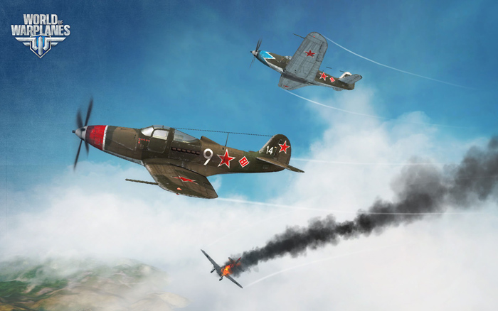 Máy bay Liên Xô bay lượn trong World of Warplanes - Ảnh 1