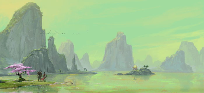 Phương Đông huyền bí qua nét vẽ ma mị trong Asta - Ảnh 5