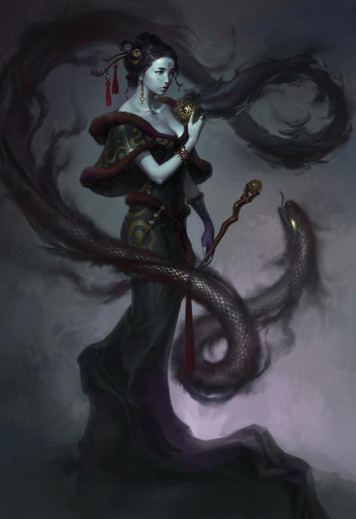 Artwork tuyệt đẹp về các nhân vật trong Asta - Ảnh 9