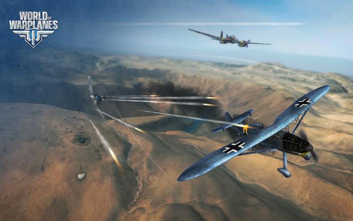 """""""Chim sắt"""" Đức lượn lờ trong World of Warplanes - Ảnh 2"""