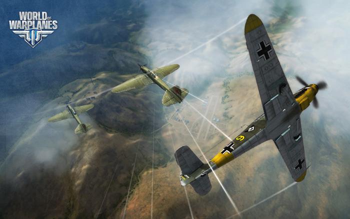 """""""Chim sắt"""" Đức lượn lờ trong World of Warplanes"""