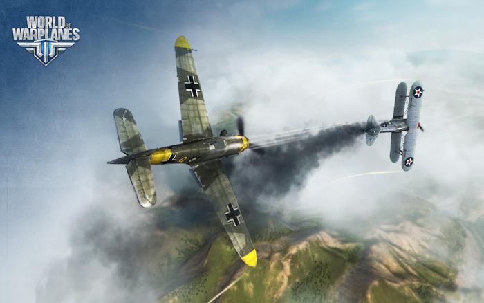 """""""Chim sắt"""" Đức lượn lờ trong World of Warplanes - Ảnh 12"""