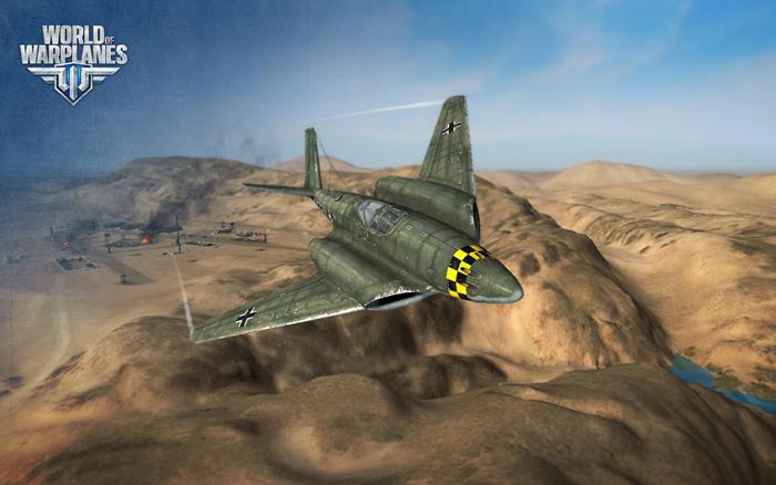 """""""Chim sắt"""" Đức lượn lờ trong World of Warplanes - Ảnh 16"""