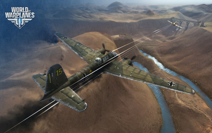 """""""Chim sắt"""" Đức lượn lờ trong World of Warplanes - Ảnh 17"""