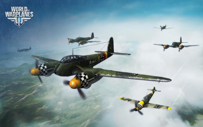 """""""Chim sắt"""" Đức lượn lờ trong World of Warplanes - Ảnh 18"""