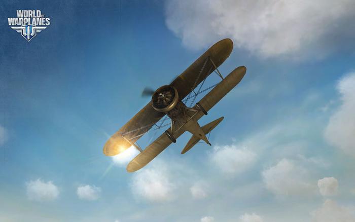 Soi máy bay Mỹ trong World of Warplanes