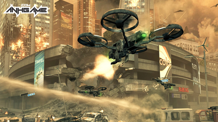Chiến trận hoành tráng trong Call of Duty: Black Ops 2 - Ảnh 9