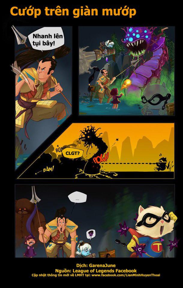 Comic LMHT: Cướp trên giàn mướp - Ảnh 2