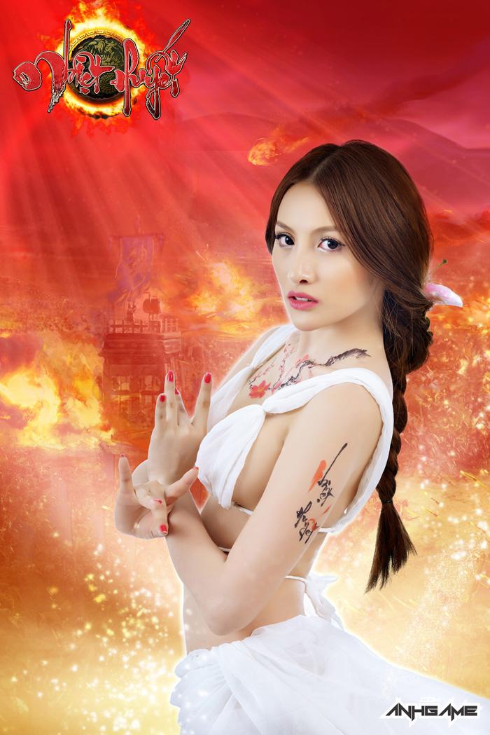 Mỹ nhân Nhiệt Huyết Online khoe vòng 1 nóng bỏng - Ảnh 3