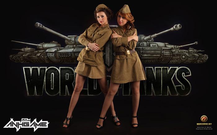Vẻ đẹp của nữ giới trong World of Tanks - Ảnh 1