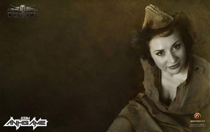 Vẻ đẹp của nữ giới trong World of Tanks - Ảnh 2