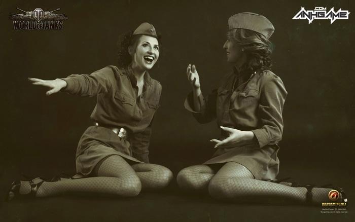 Vẻ đẹp của nữ giới trong World of Tanks - Ảnh 3