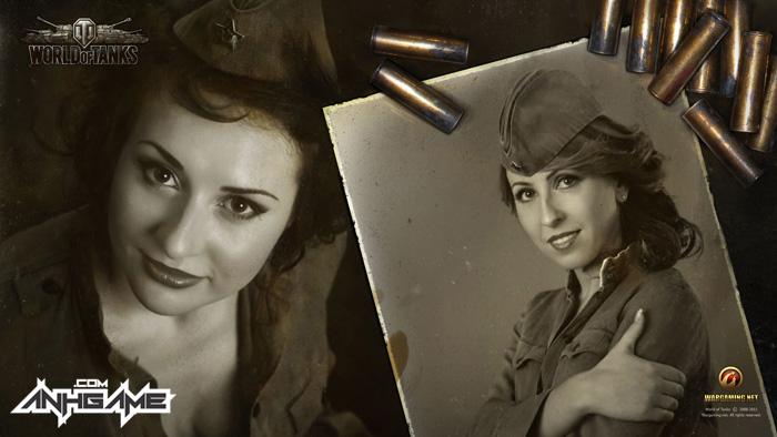 Vẻ đẹp của nữ giới trong World of Tanks - Ảnh 4