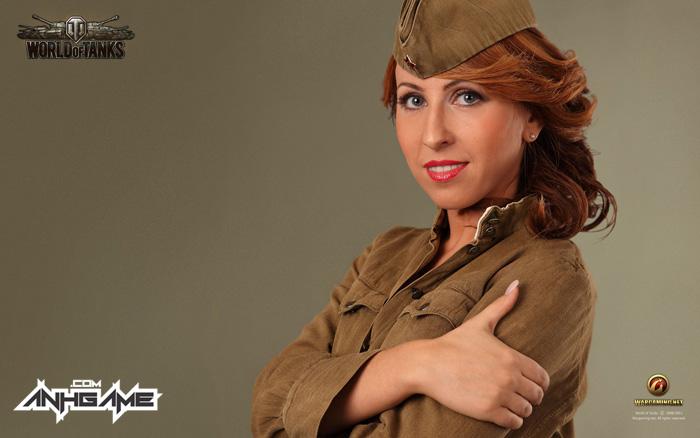 Vẻ đẹp của nữ giới trong World of Tanks - Ảnh 5