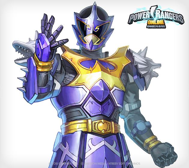 Soi hình nguyên họa của Power Rangers Online - Ảnh 2