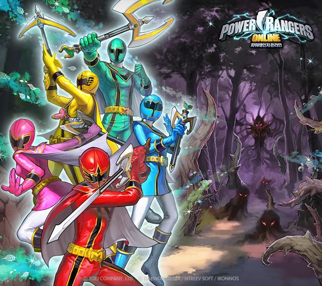 Soi hình nguyên họa của Power Rangers Online - Ảnh 4
