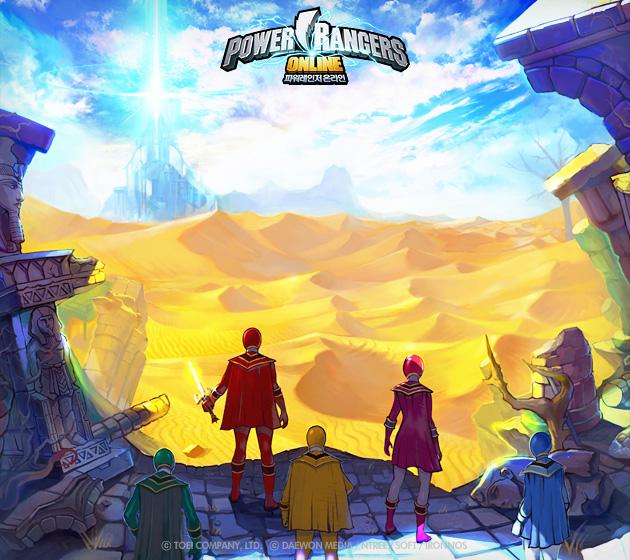 Soi hình nguyên họa của Power Rangers Online - Ảnh 5