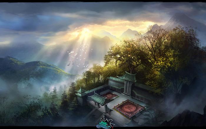 Ngắm phong cảnh thần tiên trong Cửu Giới