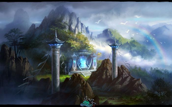 Ngắm phong cảnh thần tiên trong Cửu Giới - Ảnh 5
